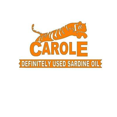 "Joe Exotic Sticker Carole Definitely Tiger Decal (Orange, 6"" Wide): Baby"