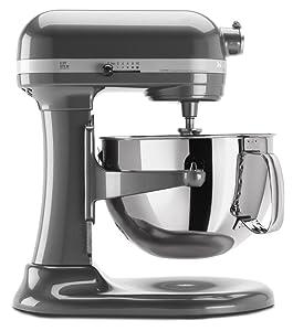 KitchenAid kp26m1xqpm Professional 600 Series 6-Quart Stand Mixer (Pearl Metallic)