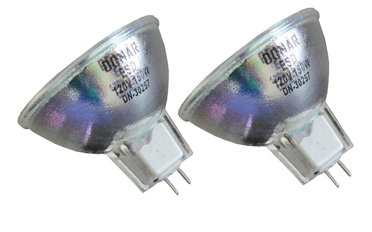2pcs ESD 120V 150W Donar Bulb for DMD ITC Spectravue Intraoral Video Camera, Telicam with Memory – ICS IntraCam – Narva Orbitec 13142 H63215 – O'Ryan Omega 110 – Star Dental Colorlight 430SWL Lamp