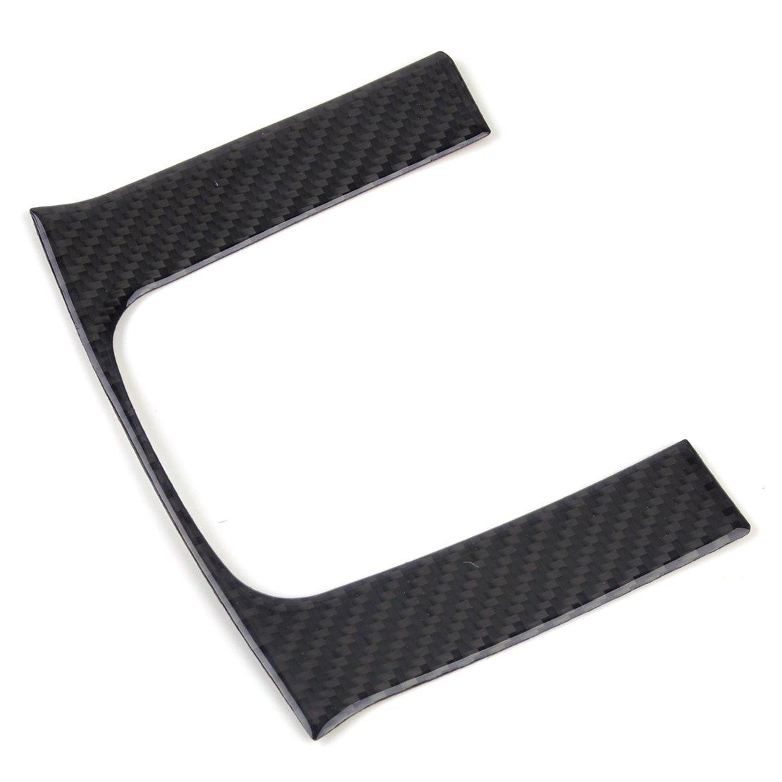 beler Carbon Fiber Gear Shift Center Konsole Panel Frame Cover Trim