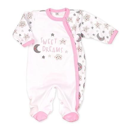 Baby Sweets Baby Pelele niña blanco gris rosa | Diseño: Sweet Dreams | Baby Body