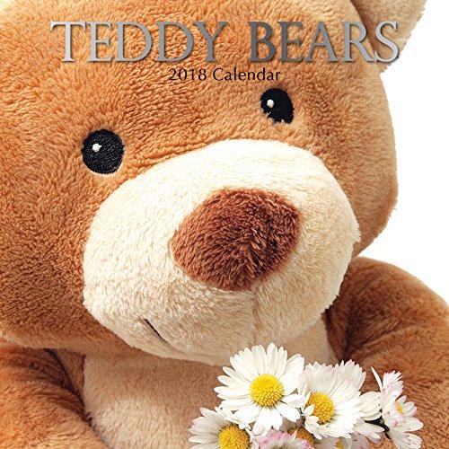 2018 Teddy Bears Calendar - 12 x 12 Wall Calendar - With 210 Calendar Stickers