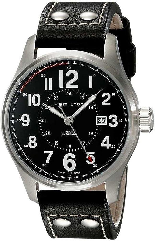 Hamilton Men s Watches Khaki Field Auto Officer H70615733 – WW