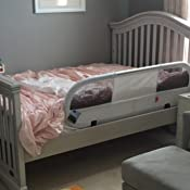 baby home side bed rail red nursery bed rails baby. Black Bedroom Furniture Sets. Home Design Ideas