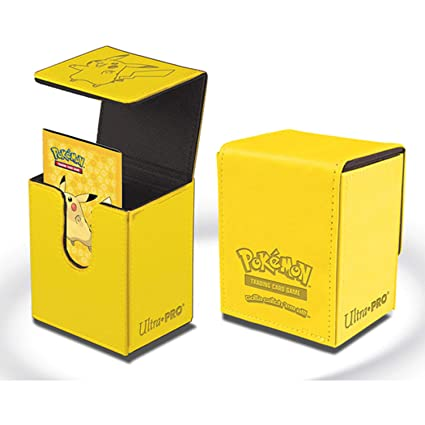 Ultra Pro Pokemon Pikachu Flip Box - Deck Box