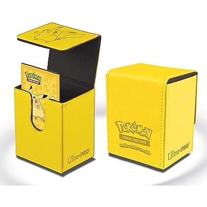 Ultra Pro Pokemon Pikachu Flip Box - Deck Box