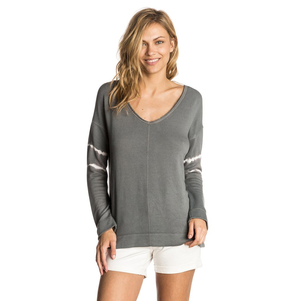 TALLA L. RIP CURL The Pass Crew, Camiseta para Mujer