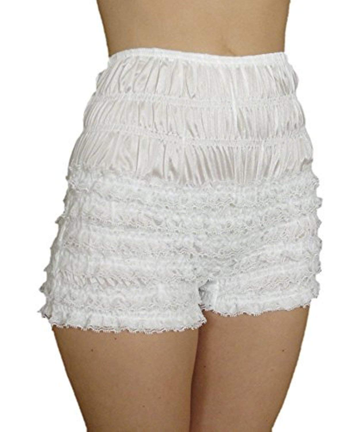 Malco Modes Womens Sexy Ruffle Panties Tanga Dance Bloomers Sissy Booty Shorts (Apple, XX-Large) by Malco Modes