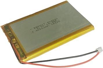 Eremit Lithium Polymer Lipo Batterie Akku 4000mah 3 7 V Amazon De Elektronik