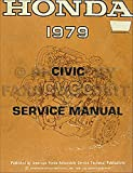1979 Honda Civic 1200 Repair Shop Manual Original