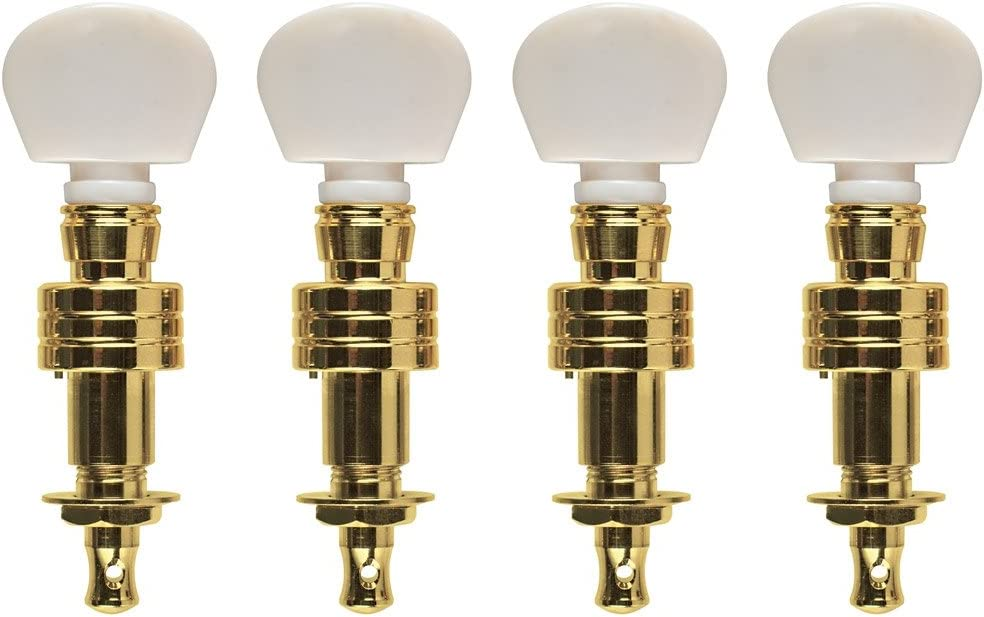 Gold Set of 4 Golden Gate P-148 Banjo Tuners