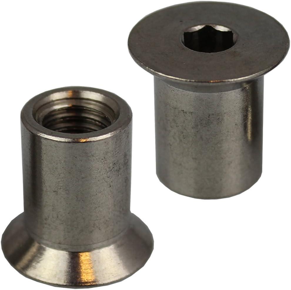 6kt. 1000-30 tête carrée creuse 20 mm 3//4 pouces Hazet Clé à douille ...