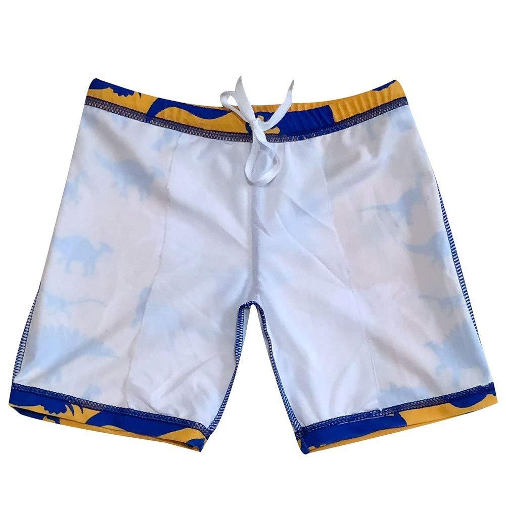 d35c0888f0 Swim ACHIYI Kids Big Boys 2pcs Long Sleeve Rashguard Swim Trunk Short Set  Beach Swimwear Bathing ...