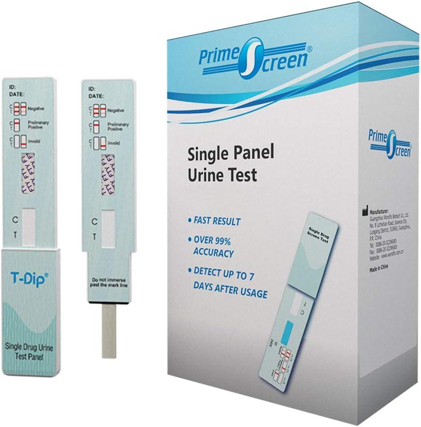 Prime Screen [10 Pack] FTY Urine Screening Test Kit - Dip Card Testing Fentanyl Use - WFTY-114