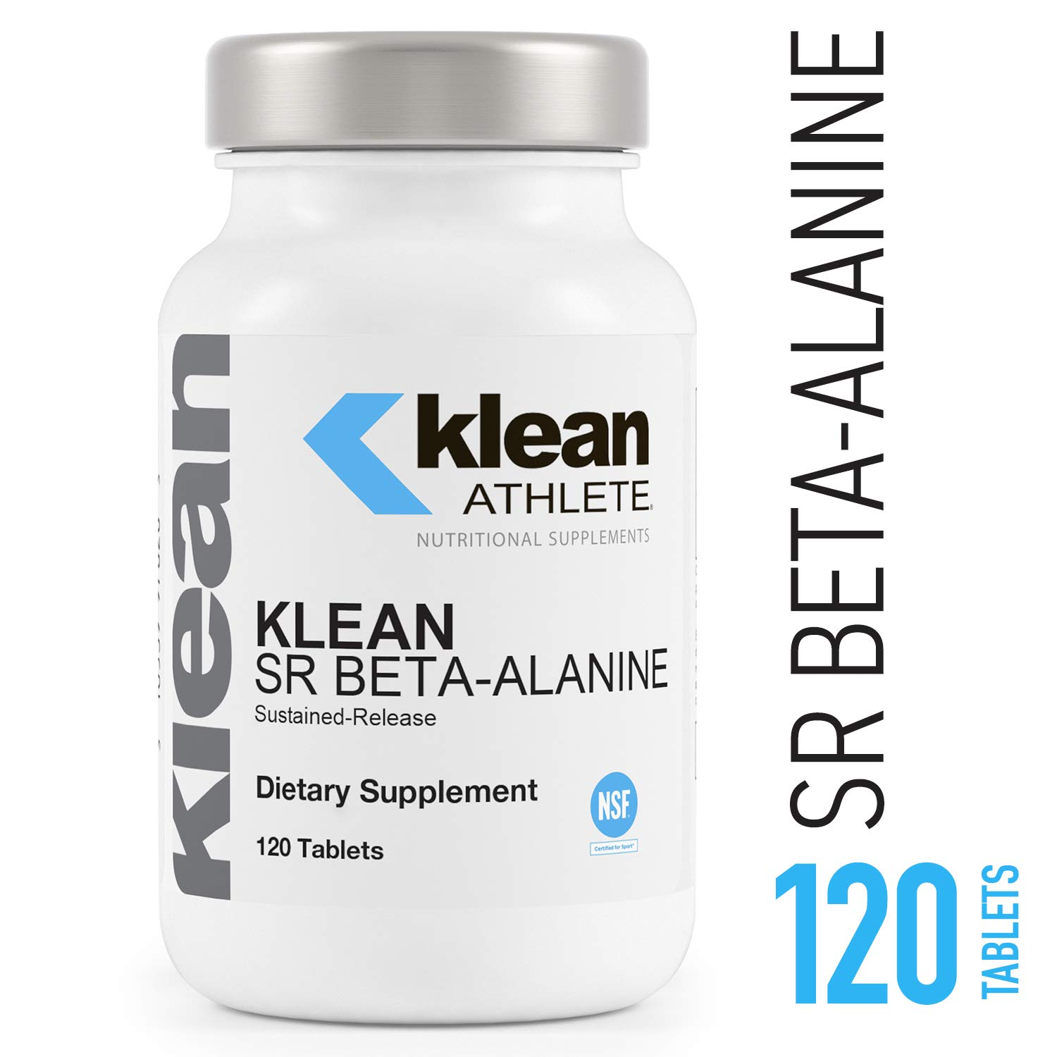 Klean Athlete - Klean SR Beta-Alanine (Sustained Release) - Delays Fatigue, Supports Muscle Endurance* - 120 Tablets by Klean Athlete