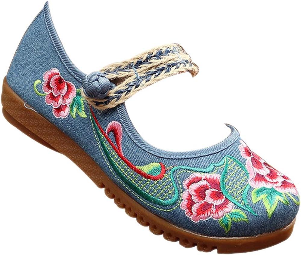 SONSYON Zapatos Tradicionales Chinos - Mujeres Hebras de Cuerda ...