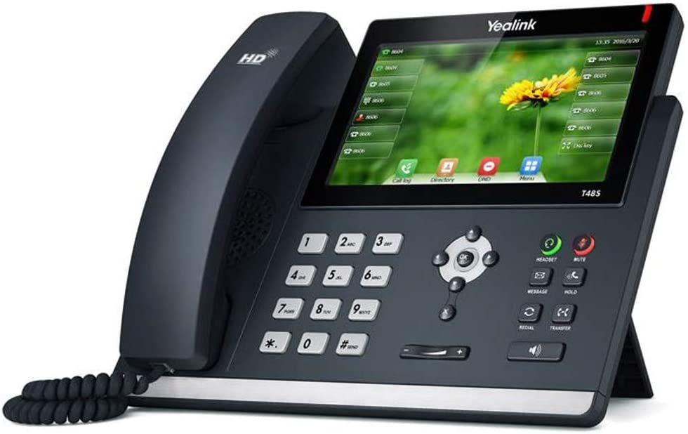 Ooma Provisioned Yealink SIP-T48S IP Phone