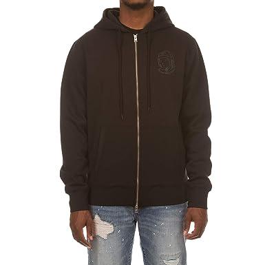 99229c5d6 Billionaire Boys Club BB Zip Logo Hoodie in Black and Red 881-8304 (Black