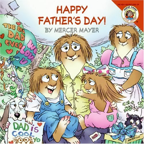 little critter Happy Father's Day book for kids