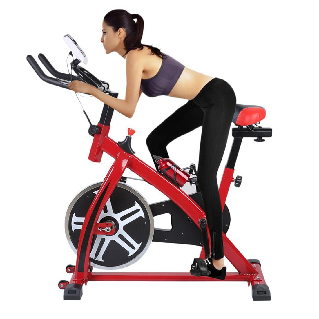 blackpoolal sp6901 Home trainer LCD Fitness Bicicleta Estática ...