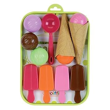 Kaufladenzubehör Kinderküche Zubehör Kaufmannsladen Spielzeug Eis Eiswaffel