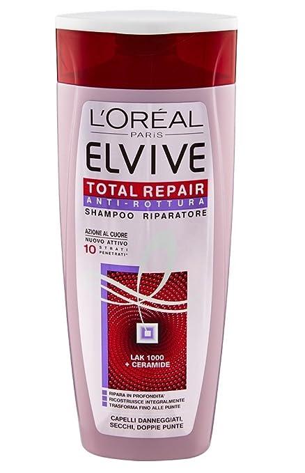 2 opinioni per L'Oréal Paris Elvive Total Repair Anti-Rottura Shampoo Riparatore per Capelli