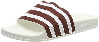 new style 63b11 e918b adidas Adilette, pantoufle homme - Rouge (Collegiate Burgundy Ftwr  White Off White