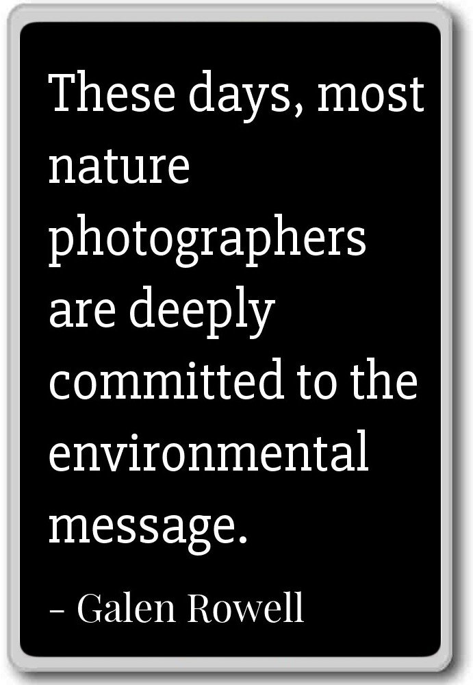 Amazoncom These Days Most Nature Photographers Are Deep