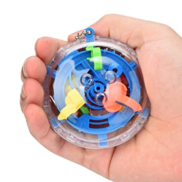 MML MM Bola de Mazo, Mini Bola Maze Intellect 3D Labyrinth Magic ...