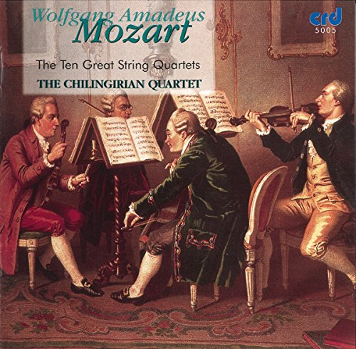- Mozart: The Ten Great String Quartets