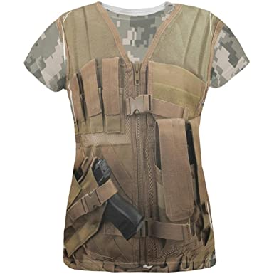 Halloween Desert Army Tactical Vest All Over Adult Tank Top