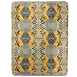 Patchwork Safari Fitted Sheet: King Luxury Microfiber, Soft, Breathable
