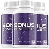 (3 Pack) Sonus Complete Tinnitus Supplement Pills, Premium Sonus Relief Supp Capsules for The Original Brand Only (180…