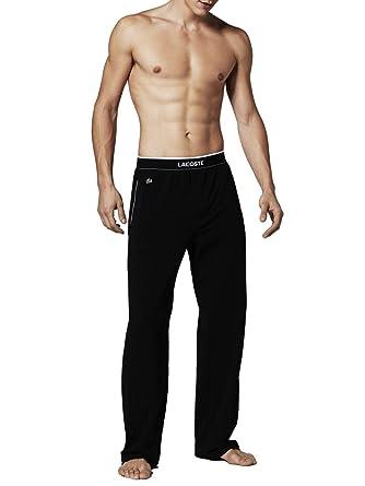 cfba115bb5 Lacoste - Bas de Pyjama - Uni Homme - Noir - XX-Large: Amazon.fr ...