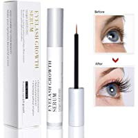 Vanelc Best Natural Eyelash Growth Serum,Brow & Lash Enhancing Formula & Rapid Brow Growing Treatment for Longer, Thick And Strong Lashes 5ML