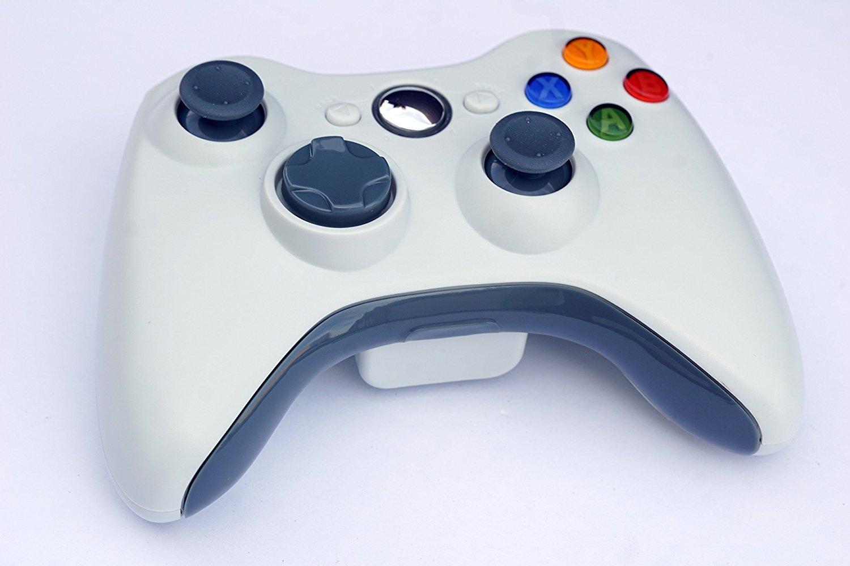 PomeMall Xbox 360 2.4G Wireless Controller (White)