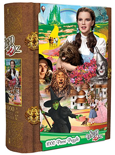 MasterPieces Wizard of Oz - Dorothy on The Yellowbrick Road 1000 Piece Book Box Jigsaw -