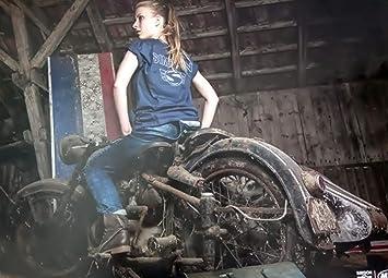 Bisomo Simson Fan Poster Heiße Mädels Und Mopeds Motiv 4 1 004