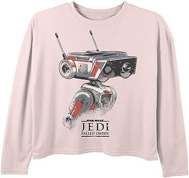 Star Wars - Camiseta para niña - Rosa - Medium: Amazon.es ...