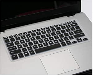 Compatible for DELL Precision 5520 5525 5530 5510 M5510 M5520 M5530 15 Inch Laptop Keyboard Cover Protector Skin,Black