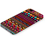 Cover Affair Aztec Printed Designer Slim Light Weight Back Cover Case for Apple iPhone 5S (Pink & White & Blue & Black & Other)
