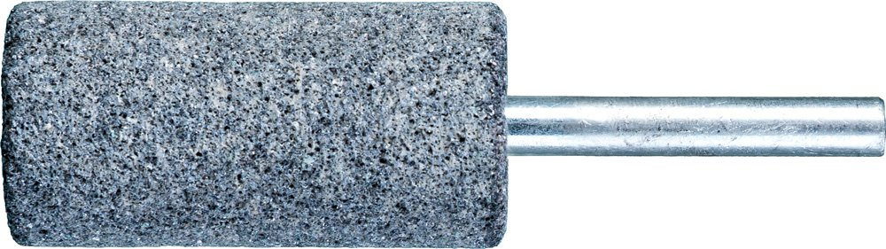 PFERD 34218 Vitrified Bond Mounted Point, Silicon Carbide, Shape W222, 1'' Diameter x 2'' Length, 1/4'' Shank, 15900 rpm, 30 Grit (Pack of 10)