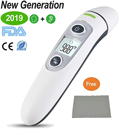 Thermometer Ear Thermometer Forehead Thermometer for Baby Children and Adults,