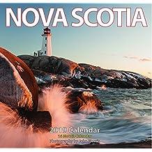 """2019 Nova Scotia Monthly Wall Calendar 12""""x11.5"""""""