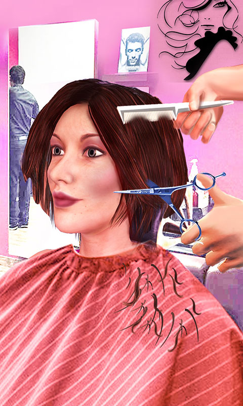 Girls Haircut Hair Salon Hairstyle Games 3d Amazon Com Br Amazon Appstore