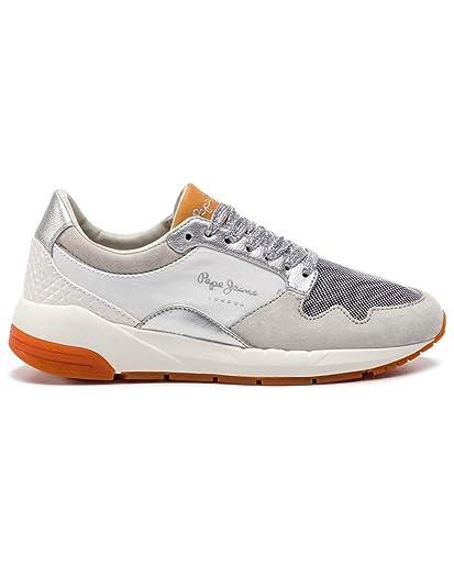 new styles 3e95e ae3f7 Pepe Jeans Schuh Frauen Foster Maya Grau: Amazon.de: Schuhe ...