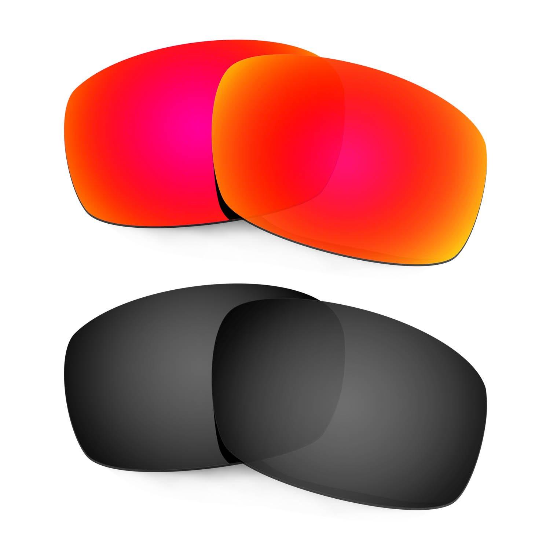 HKUCO Mens Mens Mens Replacement Lenses for Costa Caballito Sunglasses rosso nero Polarized | Ottima qualità  | Funzione speciale  | Qualità e quantità garantite  | Discount  | Varietà Grande  87753f