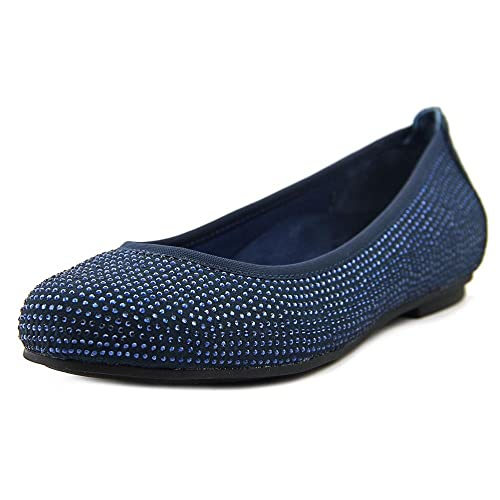 36f69322d9 Vionic Women's Spark Willow Ballet Flat (Navy, 8): Amazon.in: Shoes ...