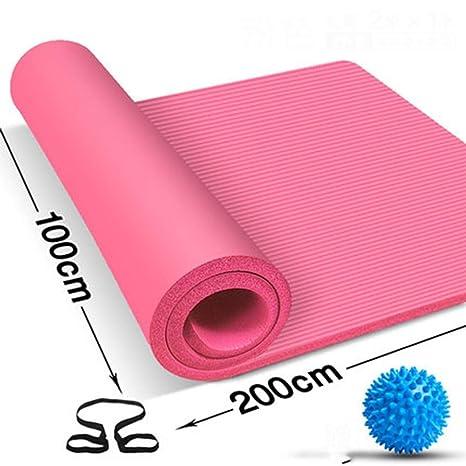 FCXBQ Las Alfombrillas de Yoga se Espesan 20 mm ensanchadas ...