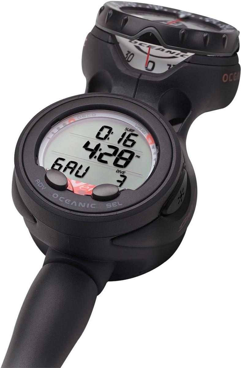 Oceanic Veo 2.0 Combo - Navcon オレンジ Metric for Scuba Diving